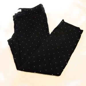 Old Navy Pixie Black w/White Dots 12 Reg